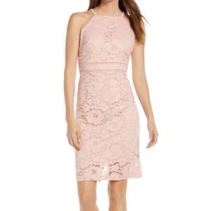 🌸 VINCE CAMUTO Sleeveless Lace Sheath Dress